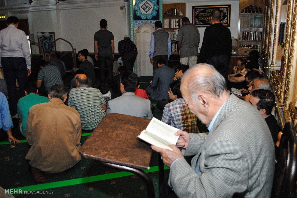 مراسم دعای عرفه در مرکز اسلامی انگلیس