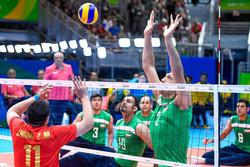 مرتضی مهرزاد عضو تیم ملی والیبال نشسته ایران