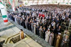 تقرير مصور عن اقامة صلاة عيد الاضحى بطهران