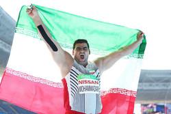 سجاد محمدیان - پرتاب وزنه