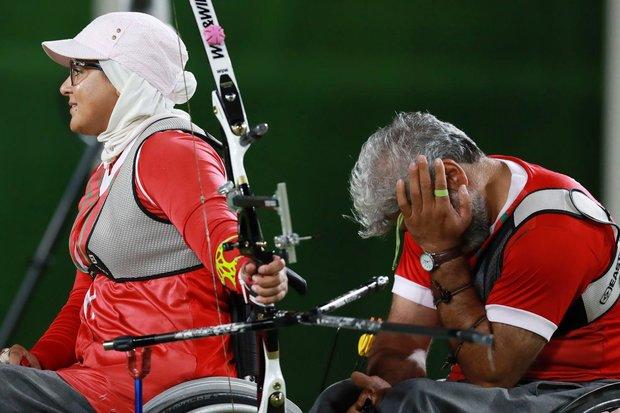 باراولمبياد ريو .. ميدالية فضية لايران في مسابقة الرماية بالقوس والنشاب