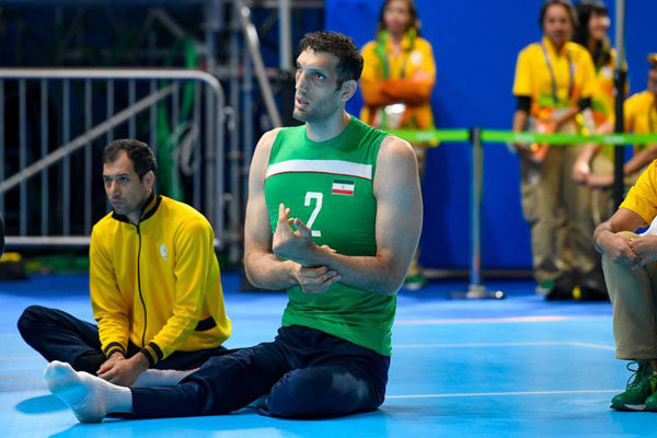 Iranian para-volleyball player named IPC's Athlete of Month in July