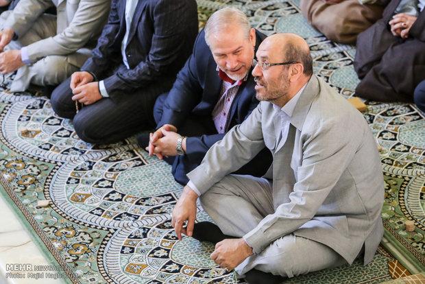 Eid al-Adha prayers in Tehran