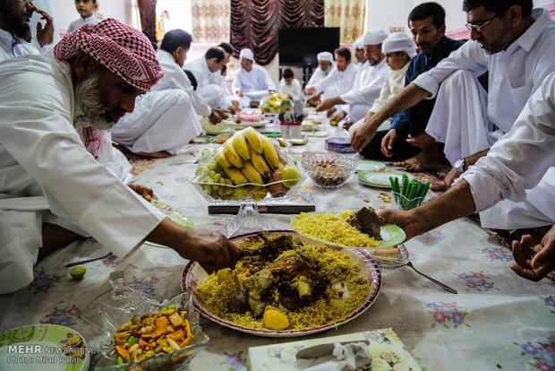"""عيد الأضحى في قرية """"جاه مبارك""""جنوب ايران"""