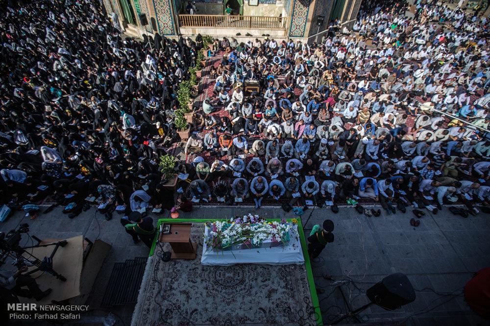 مراسم دعای عرفه در قزوین