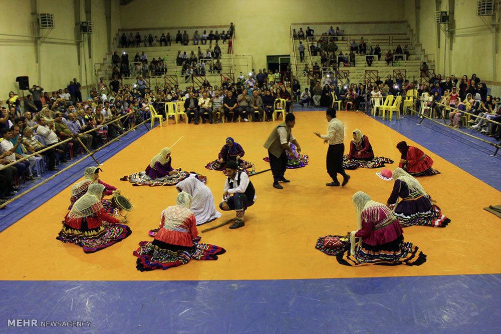 جشنواره بازی های بومی محلی در کلاچای رودسر
