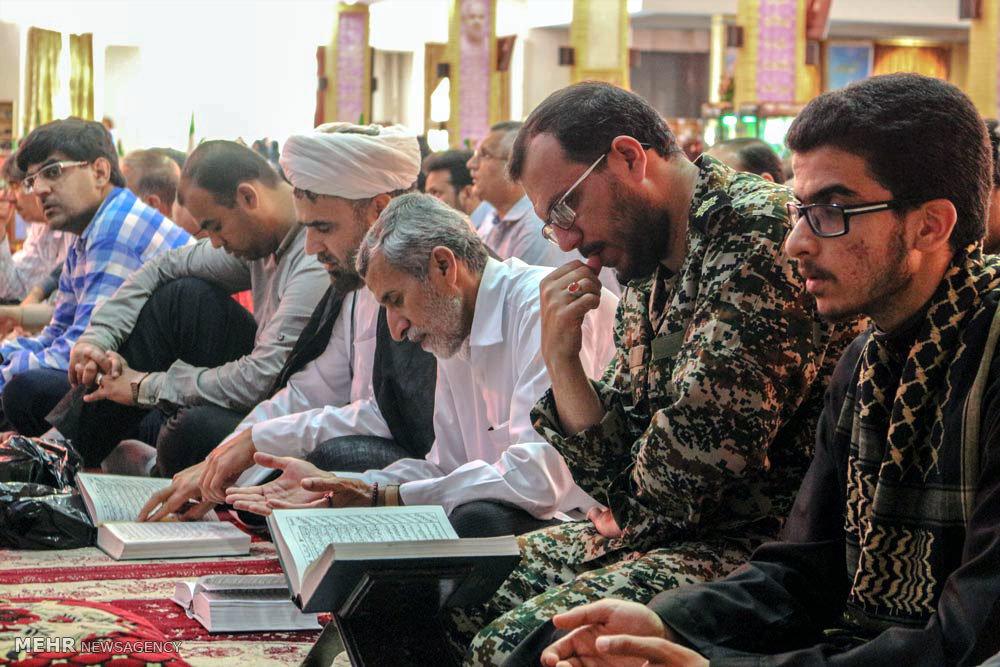 مراسم دعای عرفه در لارستان