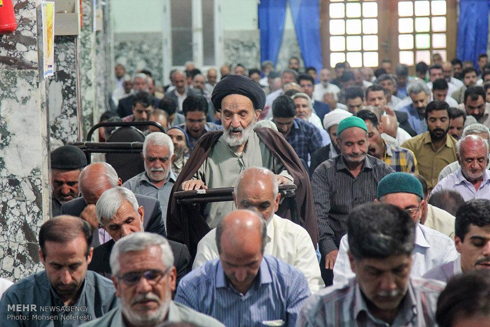 اقامه نماز عید سعید قربان در بیرجند