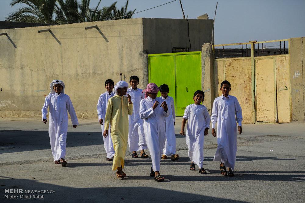 عید سعید قربان در روستای چاه مبارک