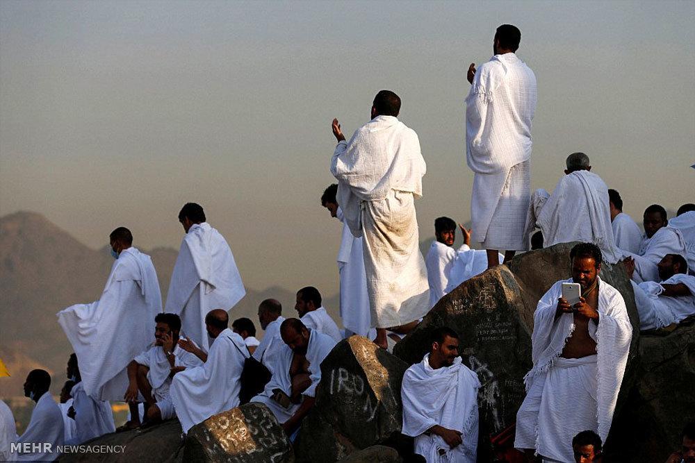حاجیان در عرفات
