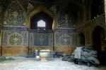 وقتی گردشگران خارجی از وضعیت مسجد امام اصفهان متعجب میشوند