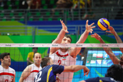Iran sitting volleyball team routs Brazil