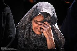تشییع پیکر محمد غلامی شهید مدافع حرم تیپ فاطمیون در شهرستان بویین زهرا