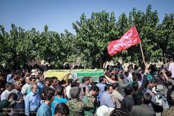 پیکر شهید مدافع حرم «حسینعلی محمدی» در سمنان تشییع می شود