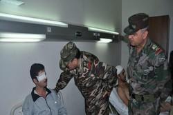 وزير الدفاع السوري يزور جرحى الجيش السوري في مستشفى تشرين العسكري