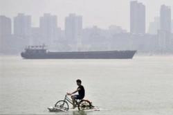 اولین تیم دوچرخه سواری روی آب در میناب تشکیل می شود