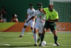 National 5-a-side footballers finish vice-champion in Rio