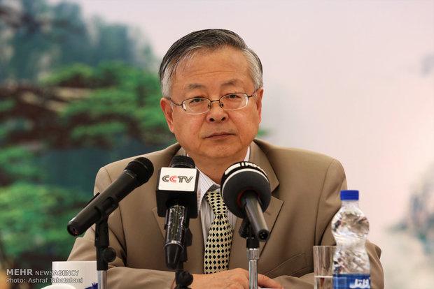 نشست خبری سفیر چین