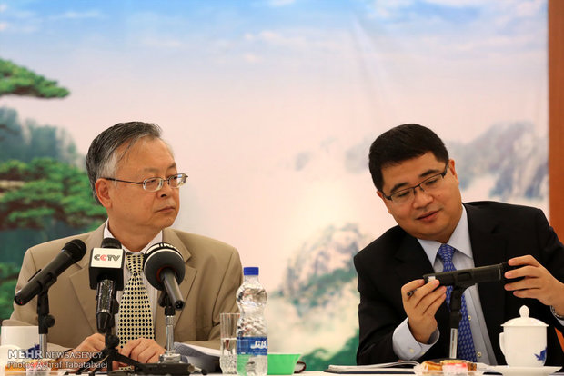Chinese amb. holds presser