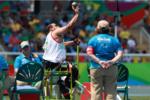 علیرضا مختاری در پرتاب وزنه مدال طلا گرفت