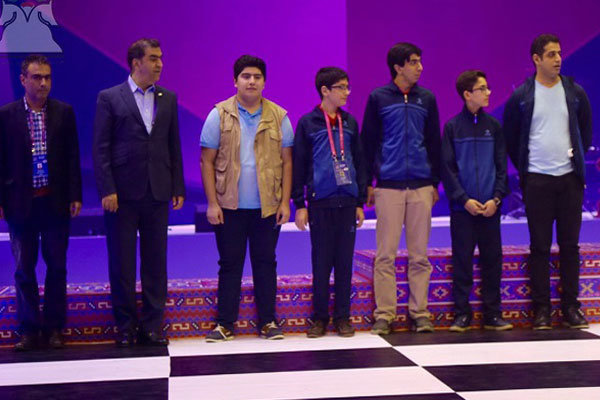 Iran finishes 1st in G. B at Baku Chess Olympiad