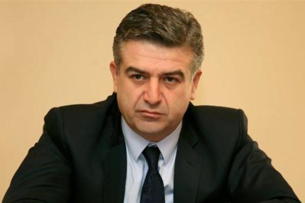 Armenian PM due to Tehran on Mon.