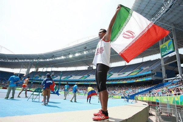 """الايراني """"حرداني"""" يحرز فضية رمي الثقل في بطولة العالم لذوي الاحتياجات الخاصة"""