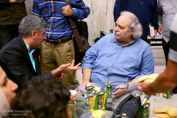 حضور محمد کاسبی در مراسم اکران خصوصی فیلم سینمایی هیهات