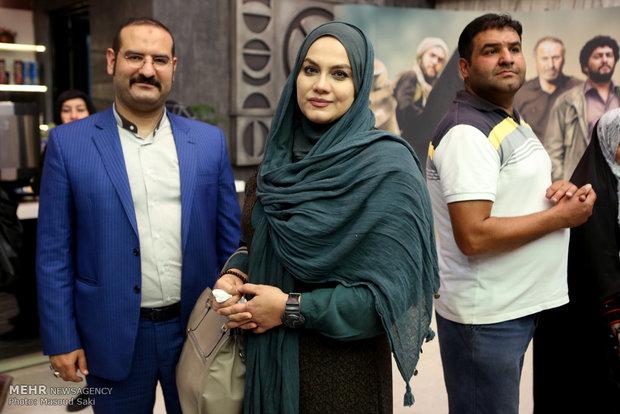 حضور نرگس آبیار در مراسم اکران خصوصی فیلم سینمایی هیهات