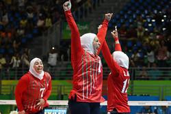 تیم والیبال نشسته بانوان ایران