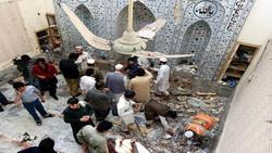 قتلى وجرحى بتفجير انتحاري بمسجد في باكستان