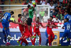 دیدار تیم های استقلال تهران و پرسپولیس تهران