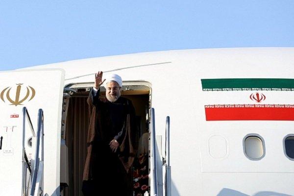 روحاني سيقوم بزيارة إلى كازاخستان السبت المقبل