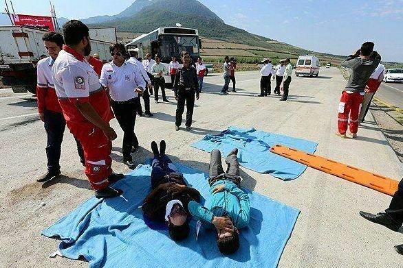 ارائه خدمات امدادی در ۱۵۴ حادثه مازندران