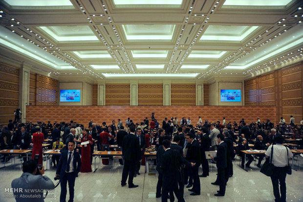 نشست خبری نخستین کنفرانس جهانی حمل و نقل پایدار ترکمنستان