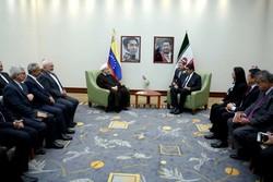 دیدار حسن روحانی و نیکلاس مادورو رئیس جمهور ونزوئلا