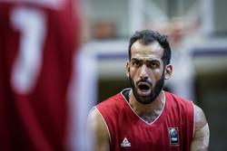 حامد حدادی - تیم ملی بسکتبال