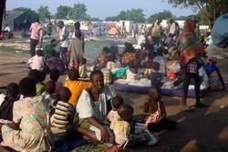 شمار آوارگان سودان جنوبی به یک میلیون نفر رسید