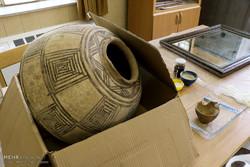 کارگاه مرمت اثار باستانی در کرمان