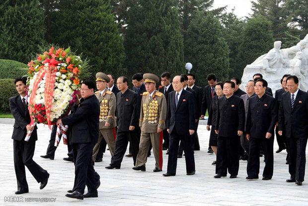 جشن آزمایش هسته ای در کره شمالی