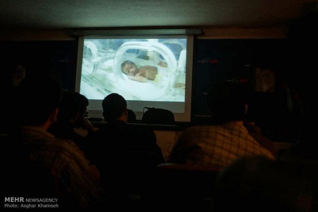 نمایش فیلم مستند راه بی بازگشت