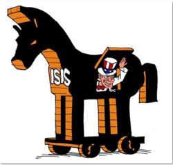داعش قناع العم سام
