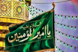 نسخه خطی دیوان حضرت علی (ع) به نمایش درمیآید