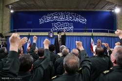 دیدار فرماندهان سپاه پاسداران انقلاب اسلامی با رهبر انقلاب