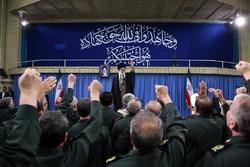 Leader receives IRGC commanders