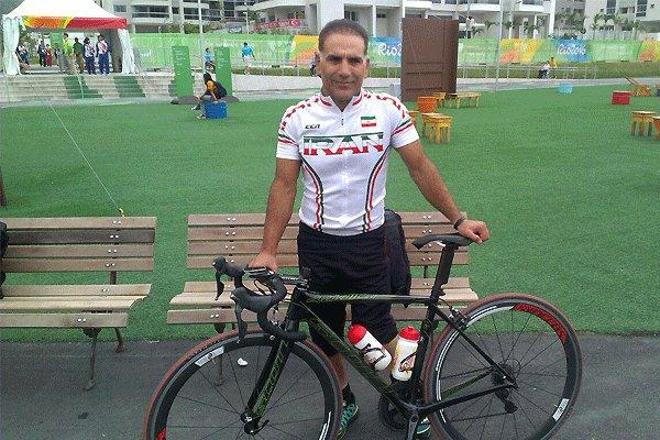 رئيس الجمهورية يعزي بوفاة الدراج الايراني كلبارنجاد في مسابقات بارالمبياد ريو