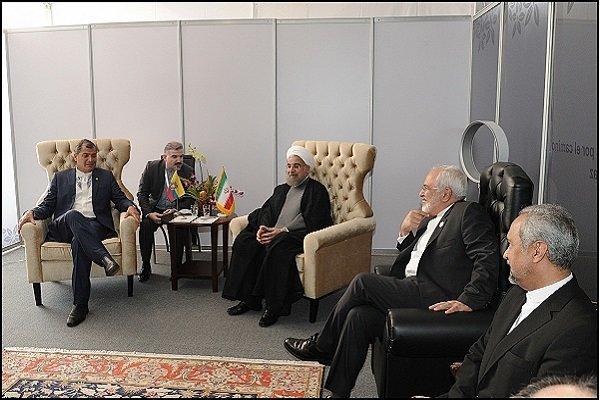 الرئيس الايراني : طهران تدعم باي اجراء لتحسين اسعار النفط