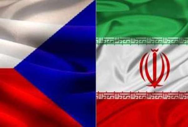 پرچم ایران و جمهوری چک