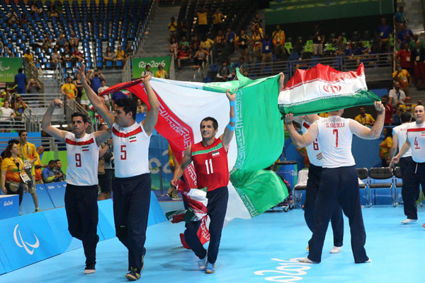 Iran's caravan lands 15th overall with gold in sitting volleyball