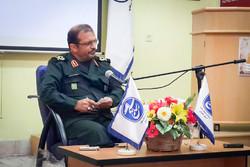 سردار رحمت اله صادقی فرمانده سپاه نینوا گلستان